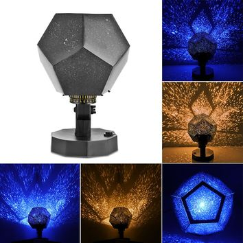 Kid's Bedroom Fantastic DIY Season Star Projector Light Star Master Astro Sky Projection Cosmos Night Lights Lamp Romantic