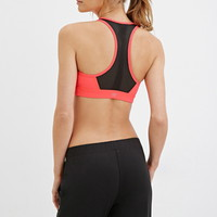 Medium Impact - Mesh-Paneled Sports Bra