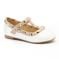 Adorababy White Stud Mary Jane | zulily