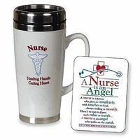 Abbey Press Nurse Travel Mug, 16 oz