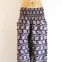 Pants Yoga Pants Harem Pants Gypsy Pants Genie Pants Aladdin Pants Massage pants  Hippie Boho pants  Women Pants Baggy Pants Beach Summer