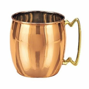 Solid Copper Moscow Mule Mugs (Set of 4) | Overstock.com