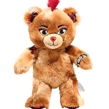 "Hot Topic X Build-A-Bear Furry N' Fierce 8"" Plush"