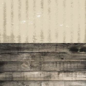 HAZELWOOD STRIPED PAPER ASH GRUNGE WOOD SWITCHOVER VINYL BACKDROP - 6x16 - LCCRS122 - LAST CALL