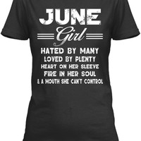 June Girl Hated By Many