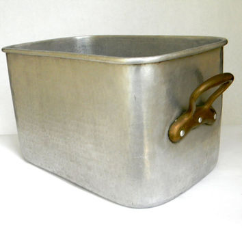 Allez Freres bread pan  vintage French pot by Mylittlethriftstore