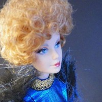 The Hunger Games: Catching Fire Barbie Collector Doll: Effie Trinket