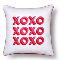Valentine's XOXO Toss Pillow
