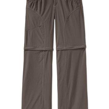 Athleta Womens Chimney Rock Convertible Pant Size 4 Tall - Olive