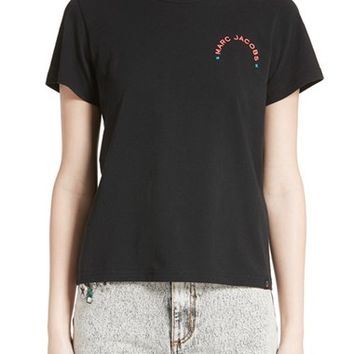 MARC JACOBS Embroidered Tee | Nordstrom