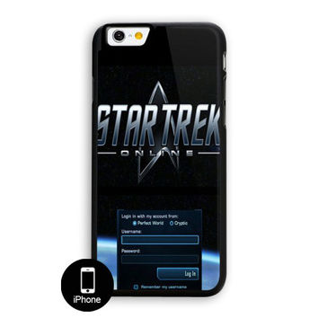 Star Trek Login iPhone 6 Plus Case