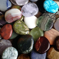 Worry Stones - Palm Stones - Tumbled Gemstones - Crystal Healing Stones