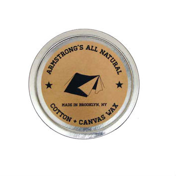 Armstrong's All Natural Cotton + Canvas Wax