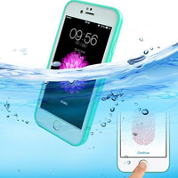 Cute Waterproof 360 Full Cover Phone Cases Cover for iPhone