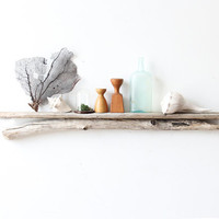 Long Natural Driftwood Shelf