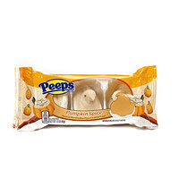 PEEPS & COMPANY Online Candy Store: Shop Now : PEEPS PUMPKIN SPICE DIPPED MARSHMALLOW CHICKS - 3 CT