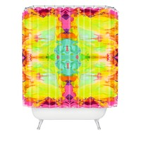 Ingrid Padilla Artful Chic Shower Curtain
