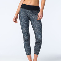 Full Tilt Sport Scale Print Womens Skinny Pants Black  In Sizes