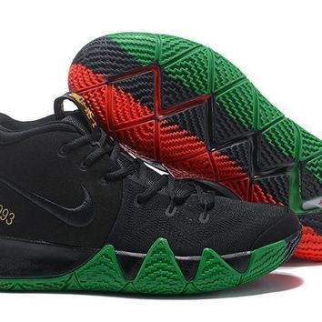 Nike Kyrie Irving 4 Blk Basketball Shoes Us7 12