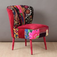 RESERVED: 50's clubchair - Spring