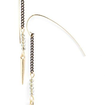 Women's Topshop Spike Drop Earrings - Gold Multi