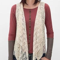 Women's Crochet Sweater Vest