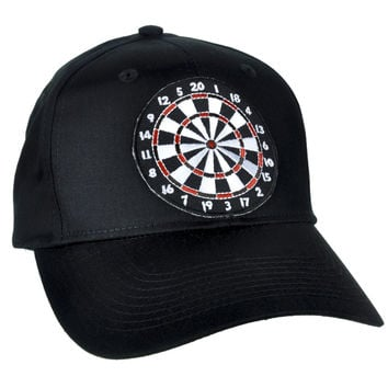 Dart Board Game Hat Baseball Cap Alternative Clothing Vintage Novelty Gift