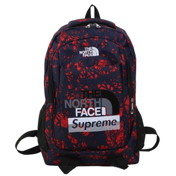 The North Face Supreme Backpack Travel Bag 3M Reflective Bookbag Sport Laptop Bag School Bag