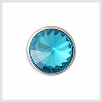 Turquoise Faceted Crystal 12mm Mini