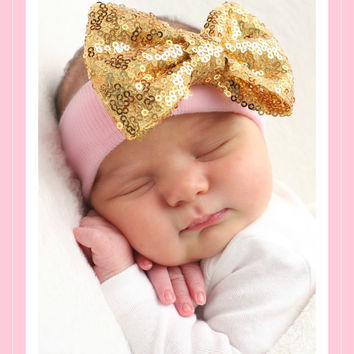 Baby girl Headband, newborn baby girl headband, Newborn Headband, Baby girls Headbands, Headband, Photo Prop