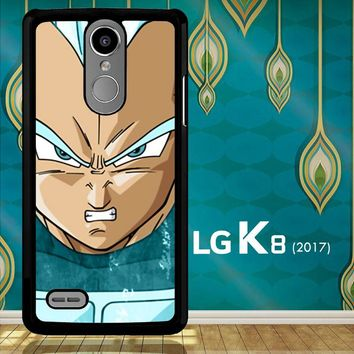 Vegeta Super Saiyan God Blue Z4286 LG K8 2017 / LG Aristo / LG Risio 2 / LG Fortune / LG Phoenix 3  Case