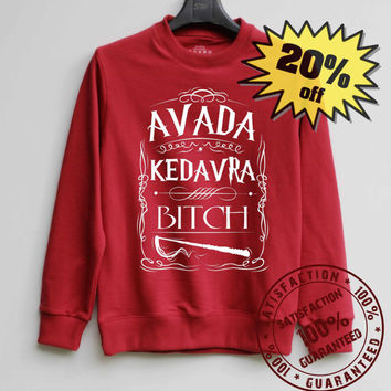 Harry Potter Shirt Harry Potter Spell Sweatshirt Sweater Shirt – Size XS S M L XL