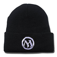 JIAQ Magic The Gathering Mana Beanie Unisex Embroidery Skullies Knitted Hats Cap