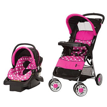 Disney Baby Lift & Stroll Travel System Minnie Dot - Baby - Baby Car Seats & Strollers - Strollers & Travel Systems
