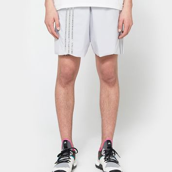 Adidas x Kolor / Track Shorts in Light Solar Grey