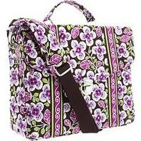 Vera Bradley Attaché in Plum Petals