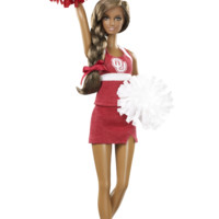 University of Oklahoma Barbie Doll (African American) - Barbie College Dolls | Barbie Collector
