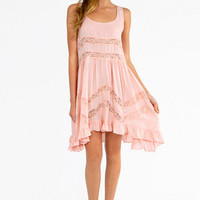 Playing Ruffle Dress $60