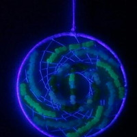 CLEARANCE - Nightlight Dreamcatcher - Glow in the Dark - 8 Inches