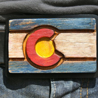 Colorful Colorado Belt