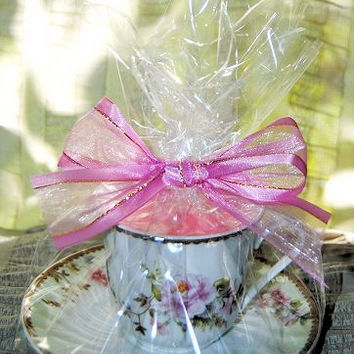 Timeless Rose Tea Cup Candle