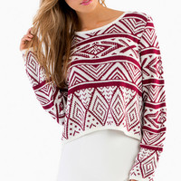 Ivy Cropped Sweater $43