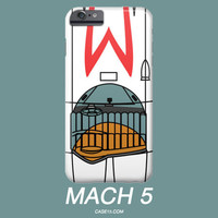 Speed Racer Mach 5 IPhone 4 5 6 Plus / Galaxy s5 s6 Phone Case