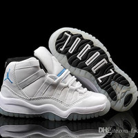 Nike Air Jordan 11 Shoes Retros XI shoe AJ11 Legend Blue Kids Basketball Shoe Toddlers School Shoes First Walking Shoe factory_store01