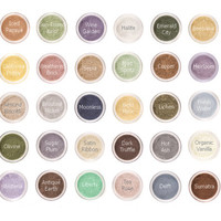 BLOOM- Eyeshadow Mineral Makeup - Eye Color Natural Vegan Minerals