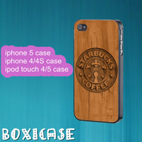 Wood coffee---iphone 4 case,iphone 5 case,ipod touch 4 case,ipod touch 5 case,in plastic,silicone and black,white.