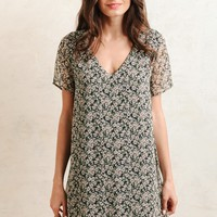 Amaryllis Floral Dress