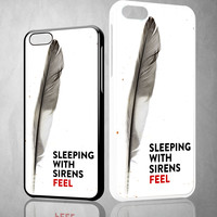 Sleeping With Sirens Feel X0031 iPhone 4S 5S 5C 6 6Plus, iPod 4 5, LG G2 G3, Sony Z2 Case