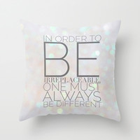 COCO Throw Pillow by REASONandRHYME