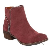 Wine Zipper Booties - Lucky Brand